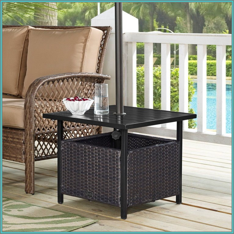 Walmart Patio Table With Umbrella Hole