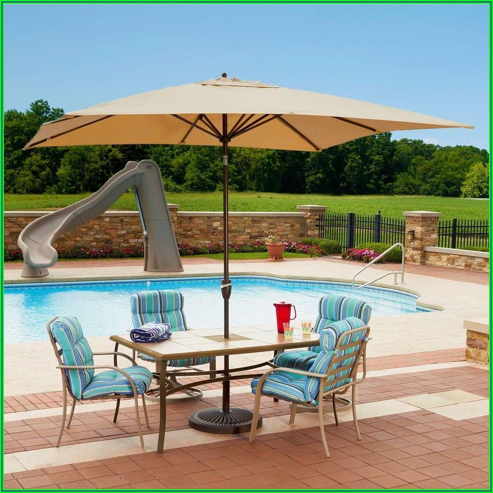 Waterproof Rectangular Patio Umbrella