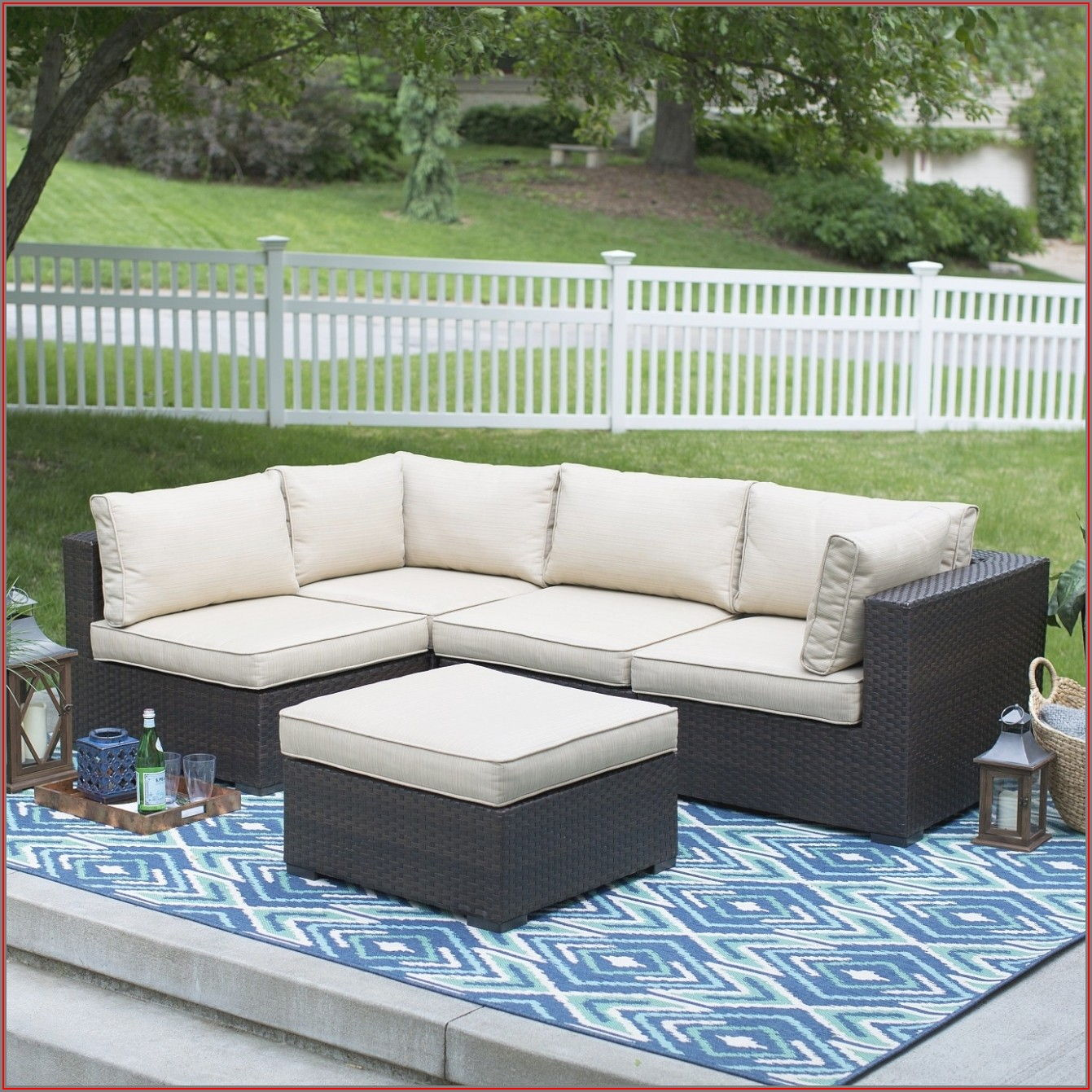 Wayfair Patio Chairs With Ottoman