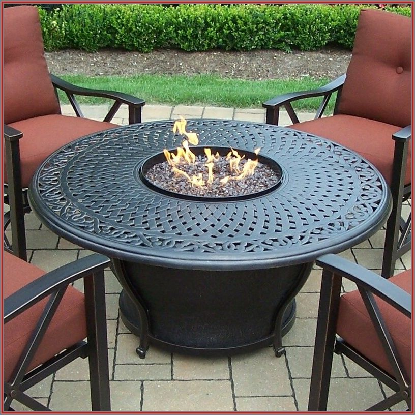 Wayfair Patio Furniture Sets With Fire Pit