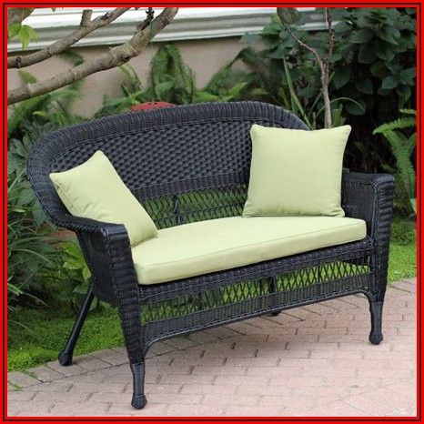 Wicker Patio Loveseat Cushions