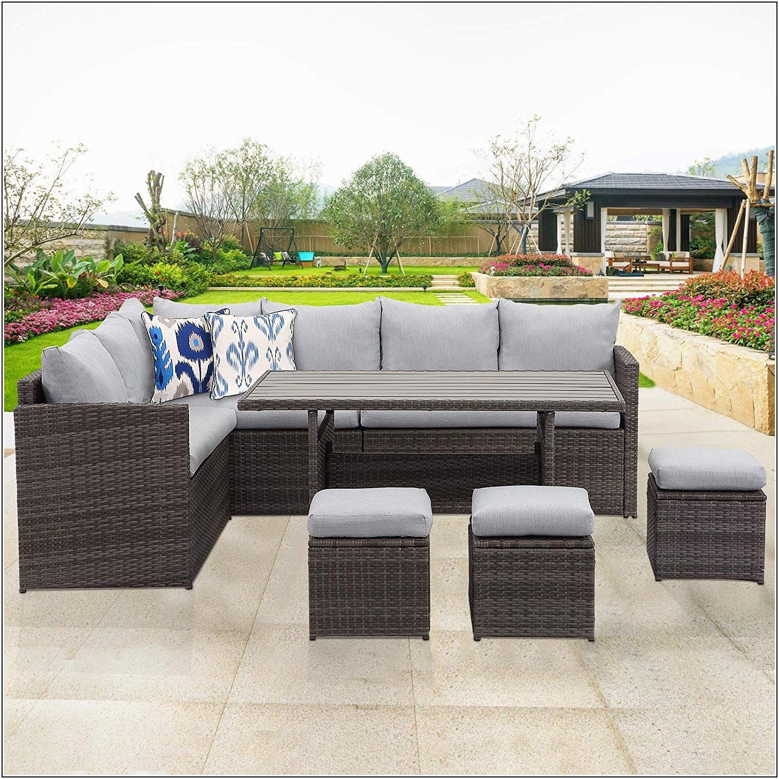 Wisteria Lane Patio Furniture Cushions