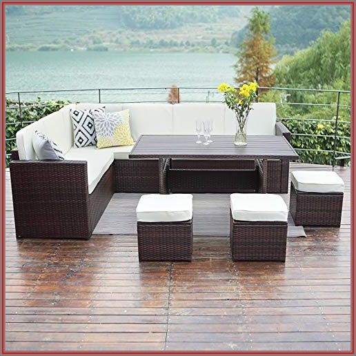 Wisteria Lane Patio Furniture Set 10 Pcs