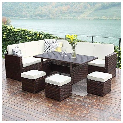 Wisteria Lane Patio Furniture Set 7 Pcs Outdoor Conversation Set