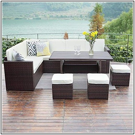 Wisteria Lane Patio Furniture Set 7 Pcs