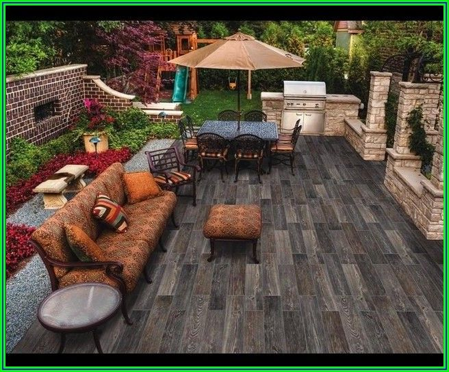 Wood Look Tile For Outdoor Patio