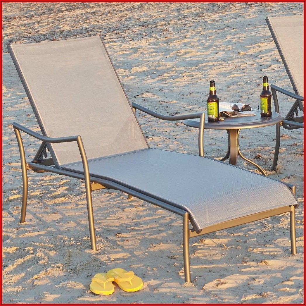 Woodard Chaise Lounge Patio Furniture