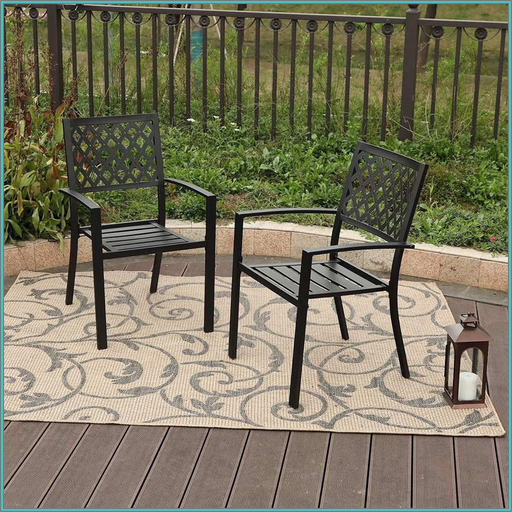 Wrought Iron Patio Chair Feet