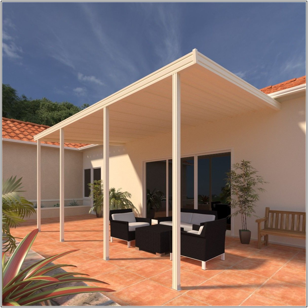 12 X 24 Aluminum Patio Cover