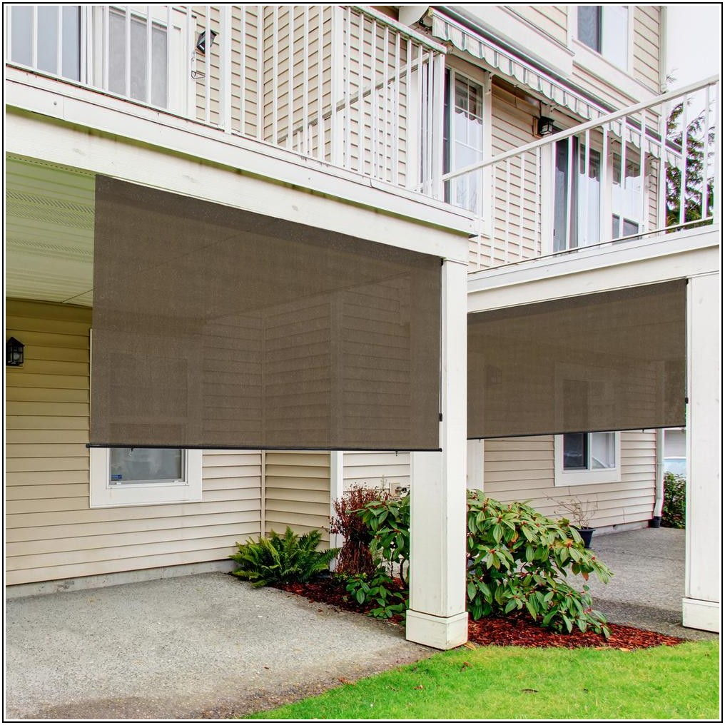 120 Inch Patio Blinds