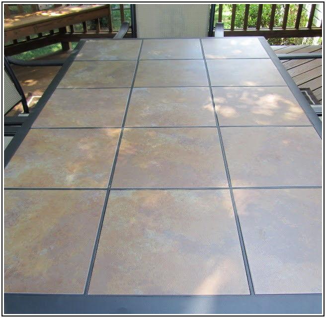12x12 Patio Table Tiles