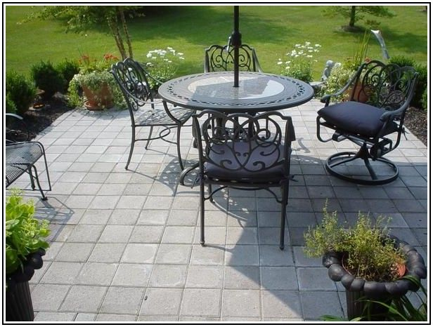 12x12 Paver Patio Ideas