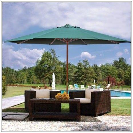 13 Foot Market Patio Umbrella