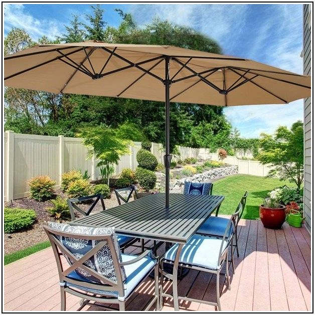 15 X 9 Patio Umbrella