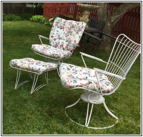 1960s Patio Furniture