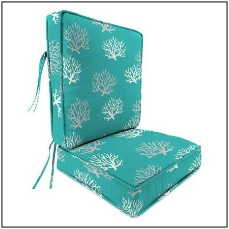 2 Piece Deep Seat Patio Cushions