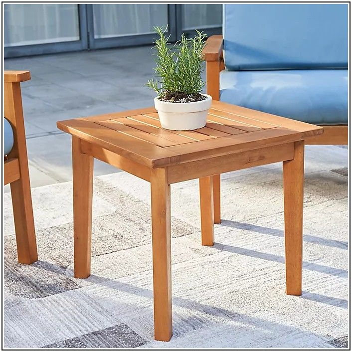 20 Inch Patio Side Table