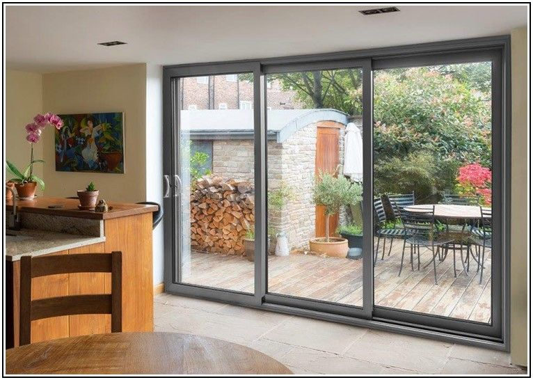 3 Door Patio Door