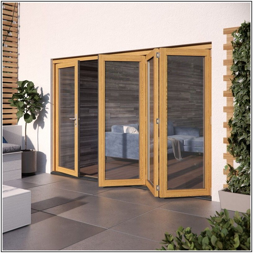 3 Panel Folding Patio Door