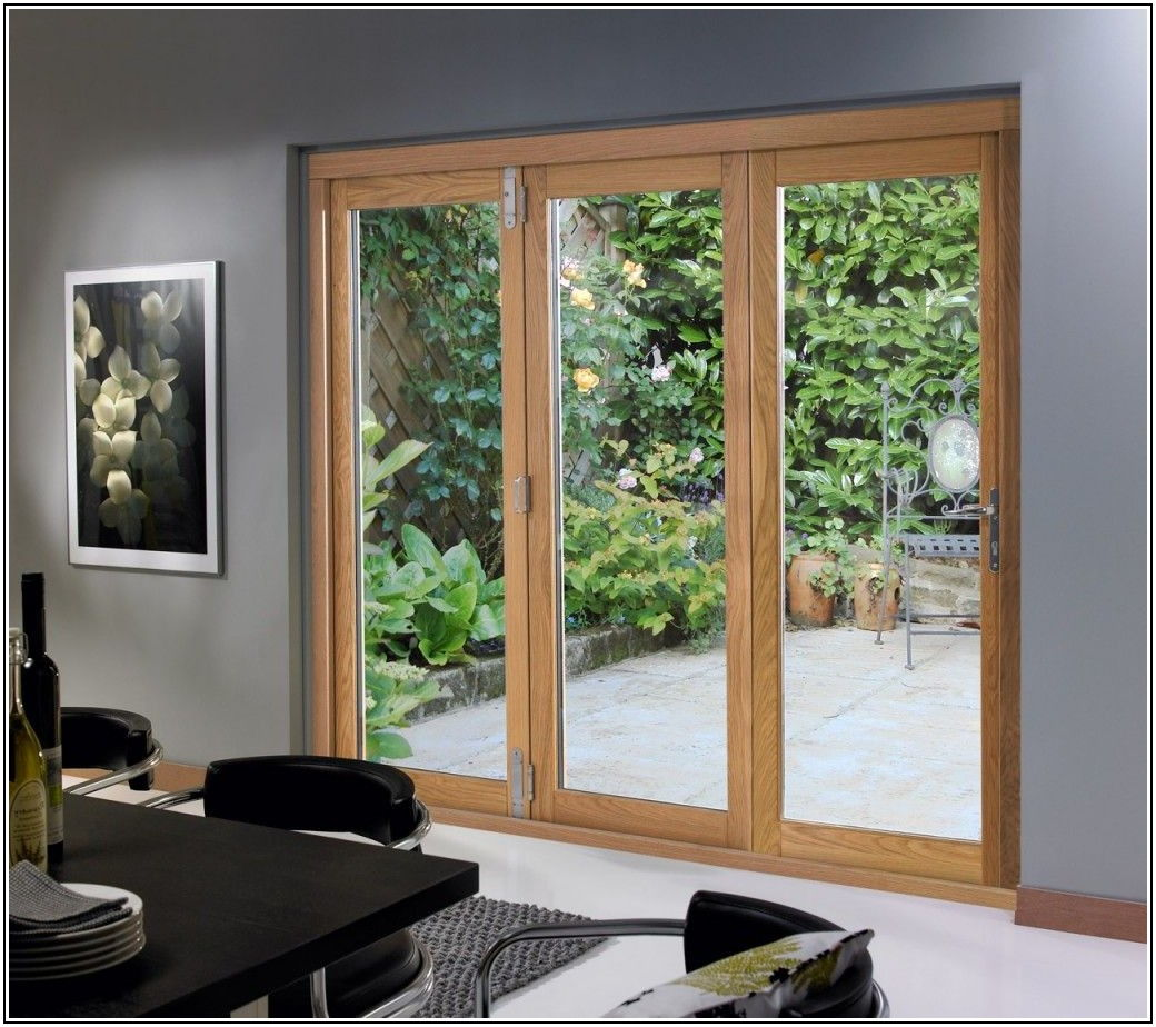 3 Panel French Patio Door