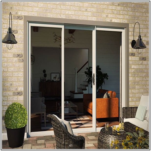 3 Panel Sliding Glass Patio Doors