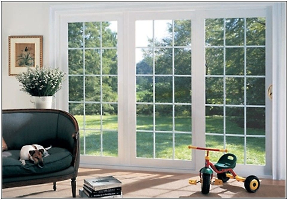 3 Panel Sliding Patio Door Home Depot