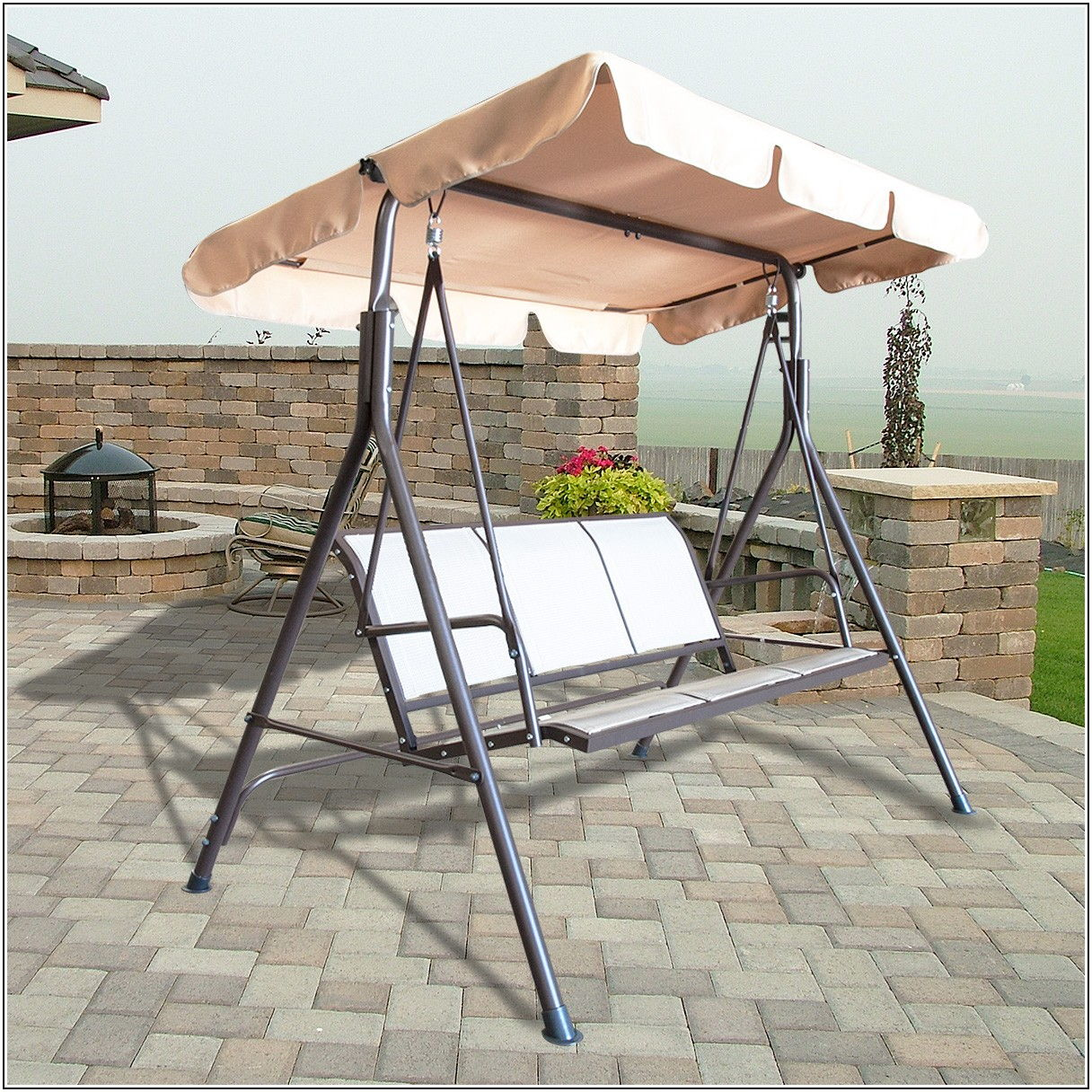 3 Person Glider Patio Furniture