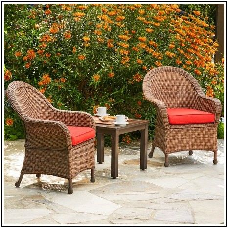 3 Piece Resin Wicker Patio Set