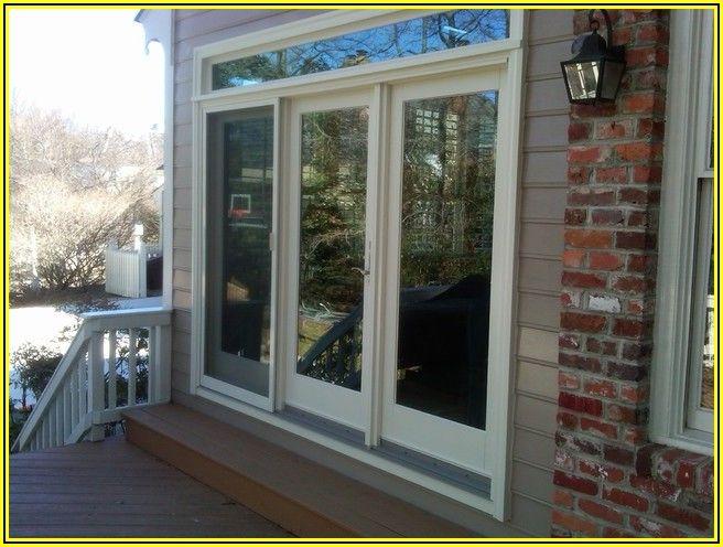3 Section Andersen 3 Panel Sliding Patio Door