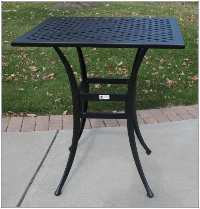 36 Inch Height Patio Table