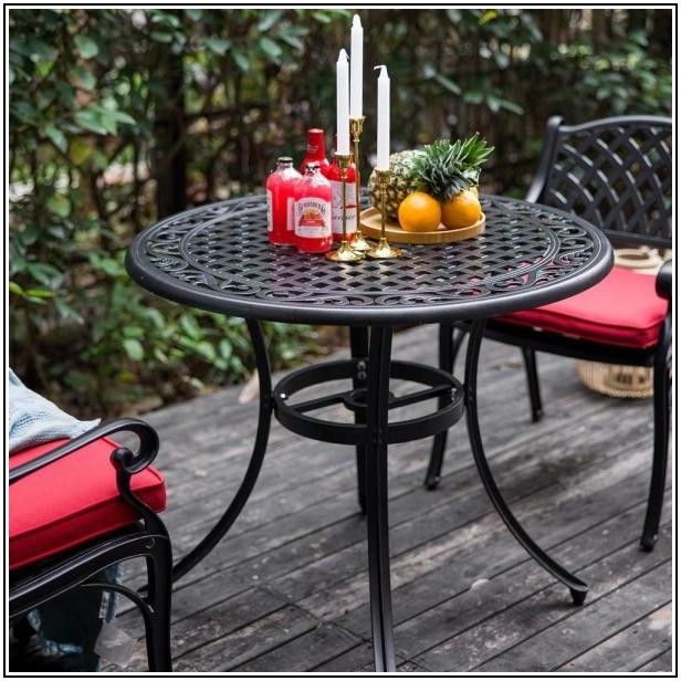 36 Inch Patio Table With Umbrella Hole