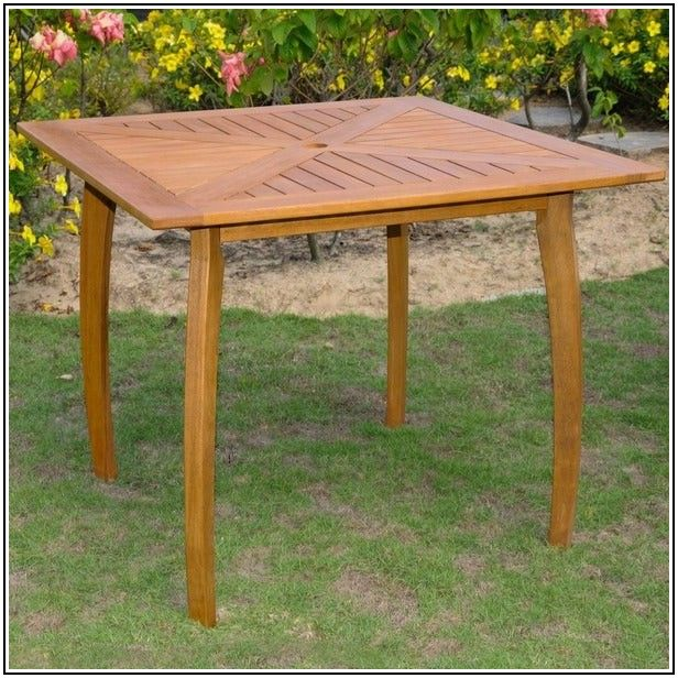 36 Inch Square Patio Table