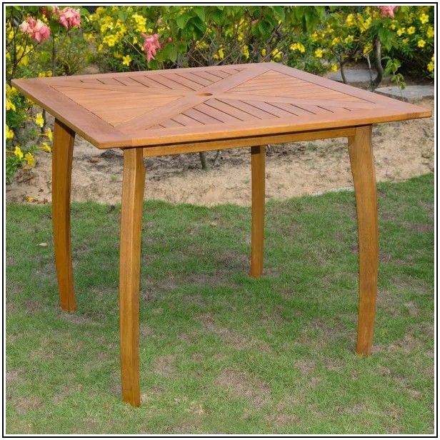 36 Square Patio Table