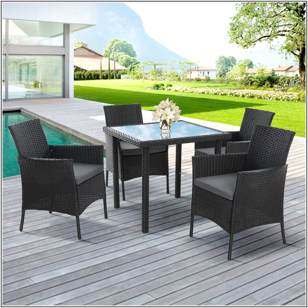 4 Chair Patio Dining Set