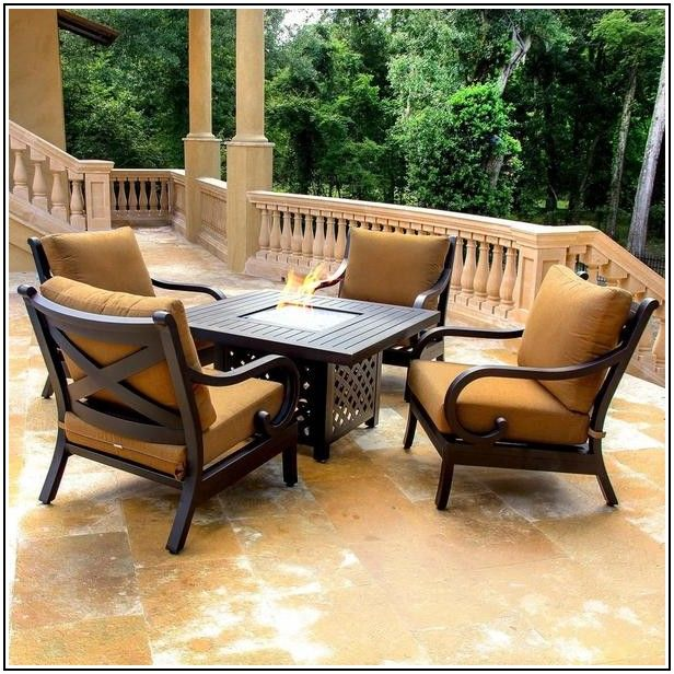 4 Chair Patio Table Set