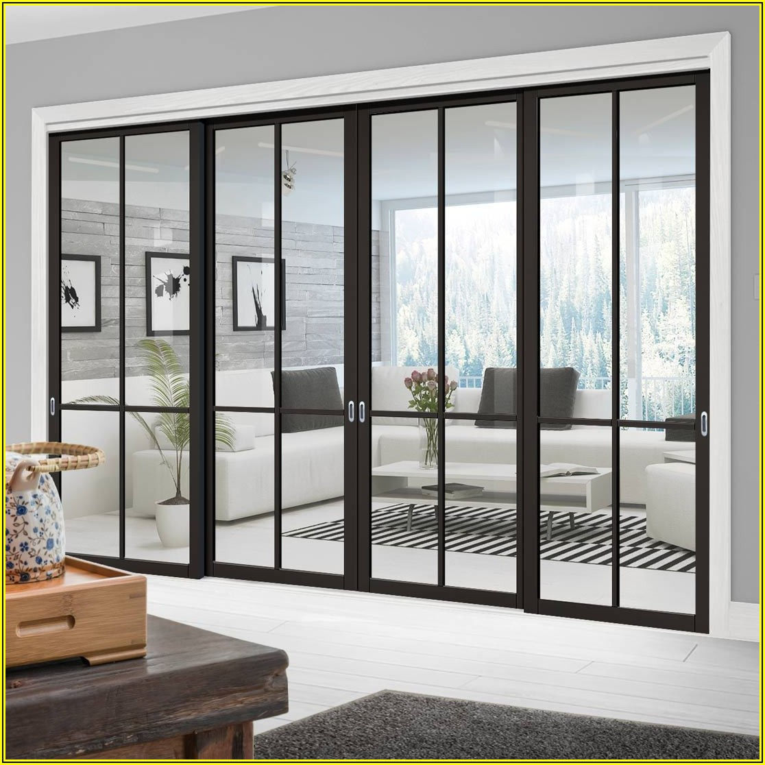 4 Pane Sliding Patio Doors