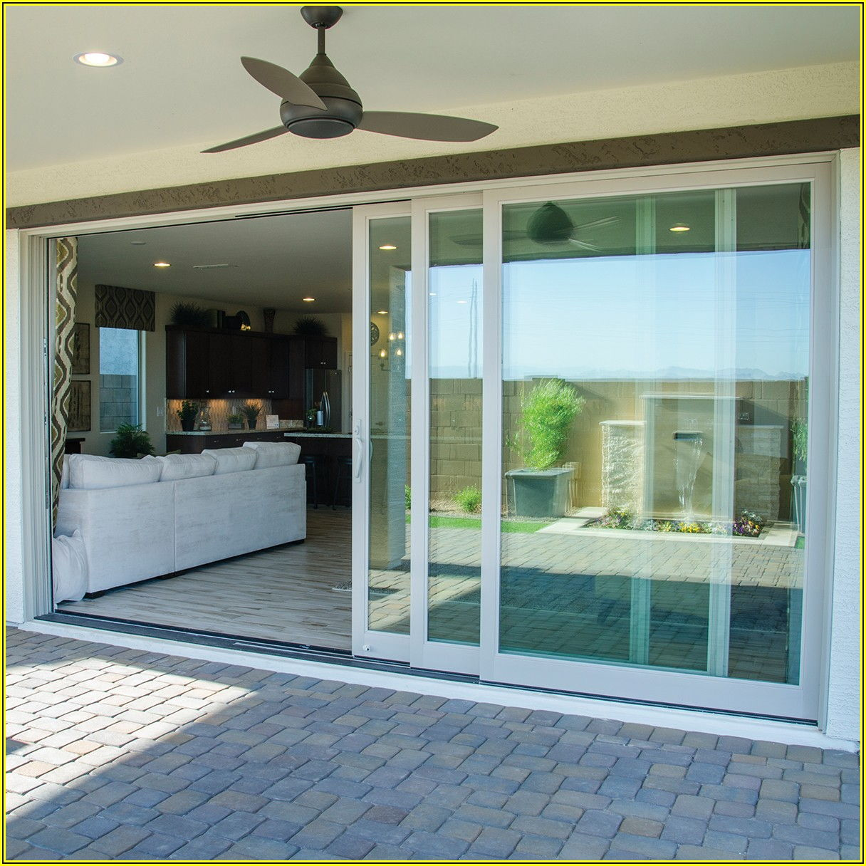 4 Panel Multi Slide Patio Door