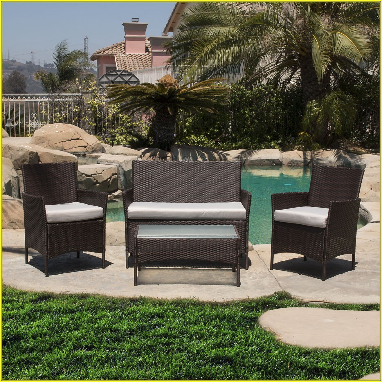 4 Pc Outdoor Patio Set