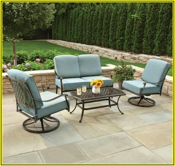 4 Piece Patio Cushion Set