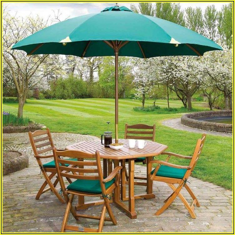 4 Seat Patio Set With Umbrella