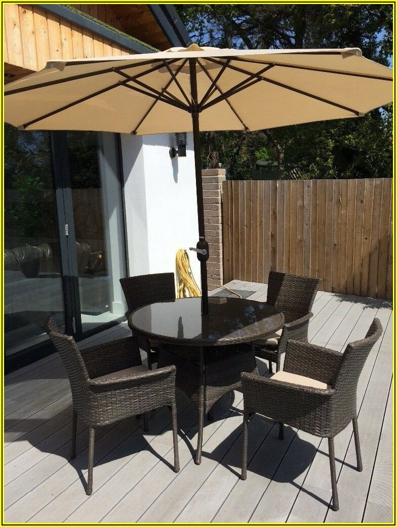 4 Seat Patio Table