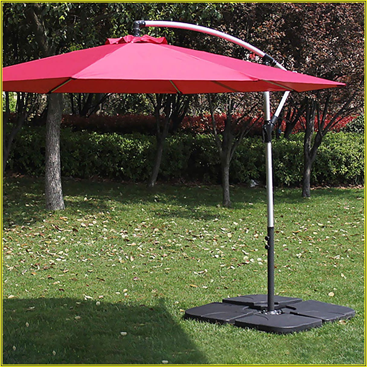4 Square Patio Umbrella
