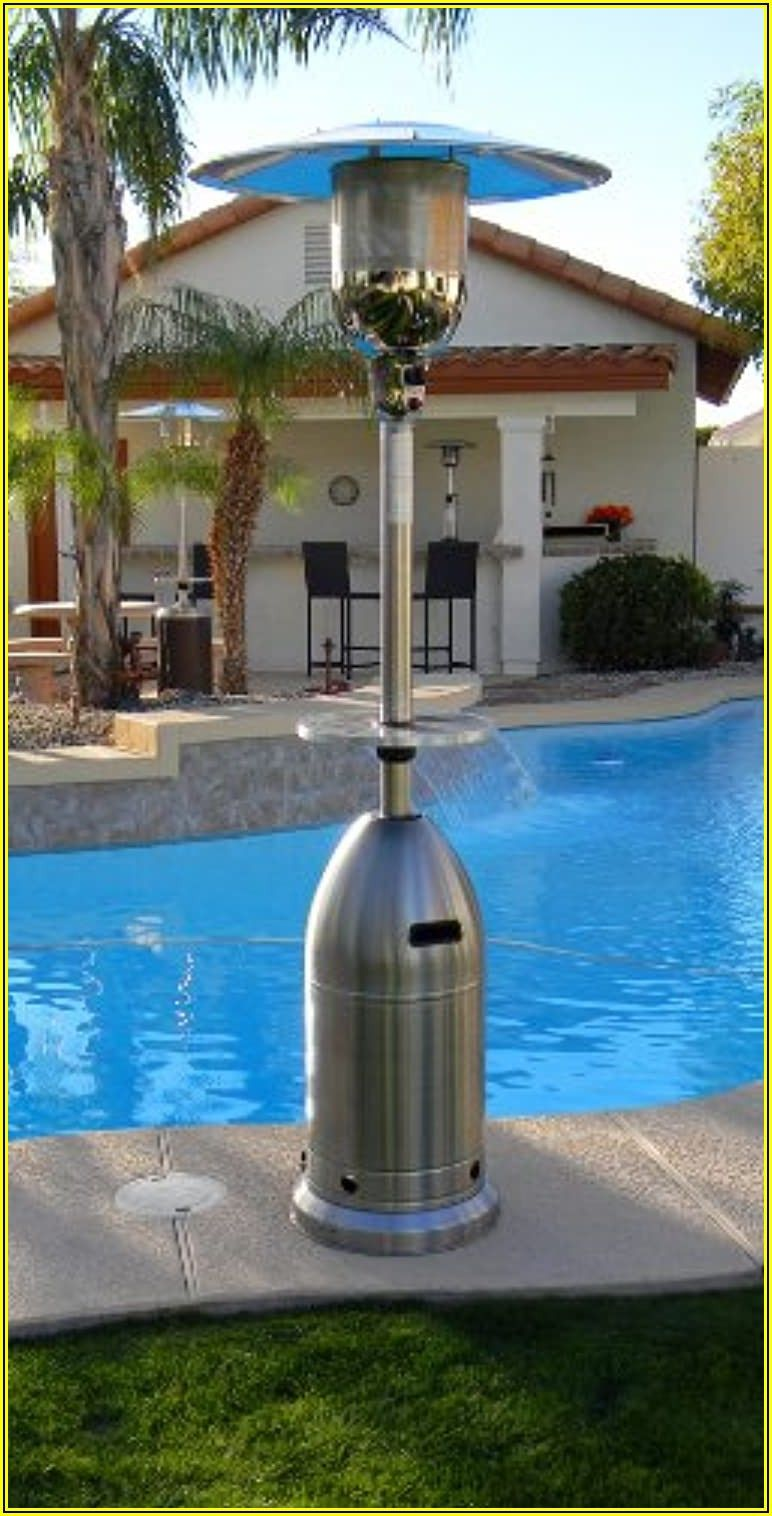 48000 Btu Stainless Steel Patio Heater Home Depot