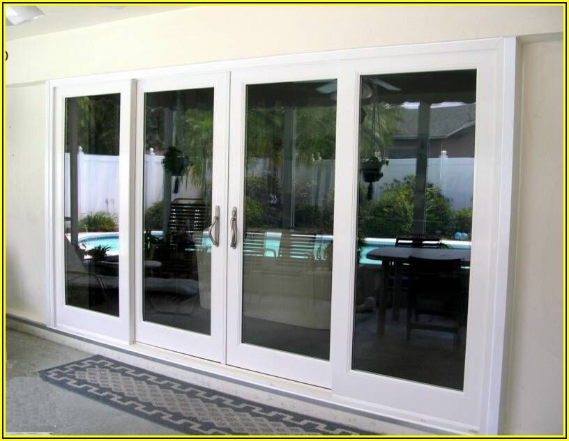 5 Foot Sliding Patio Doors With Built In Blinds
