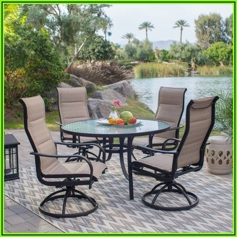 5 Piece Sling Patio Dining Set