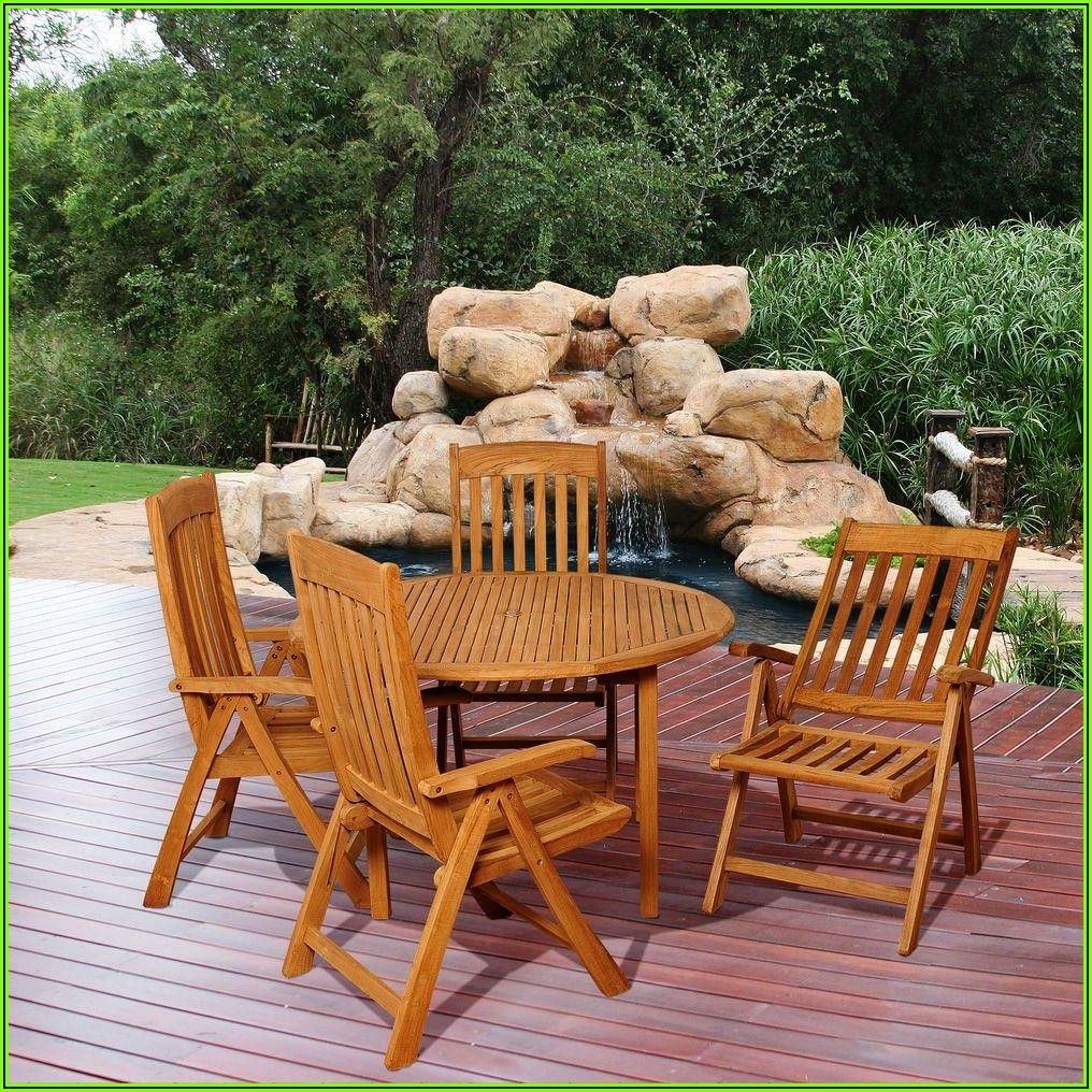 5 Piece Teak Patio Set