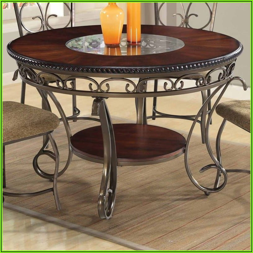 53 Inch Round Patio Table
