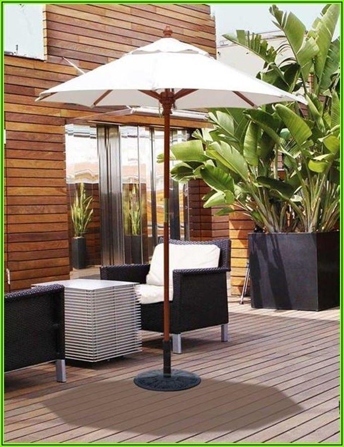 6 Foot Round Patio Umbrella