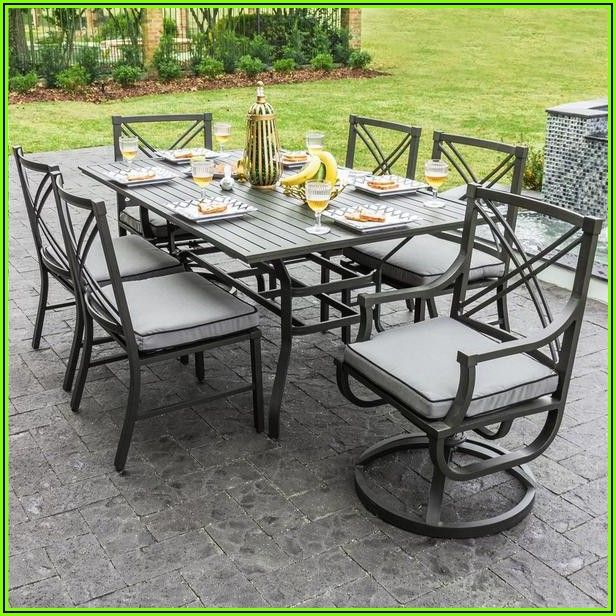 6 Person Patio Dining Table