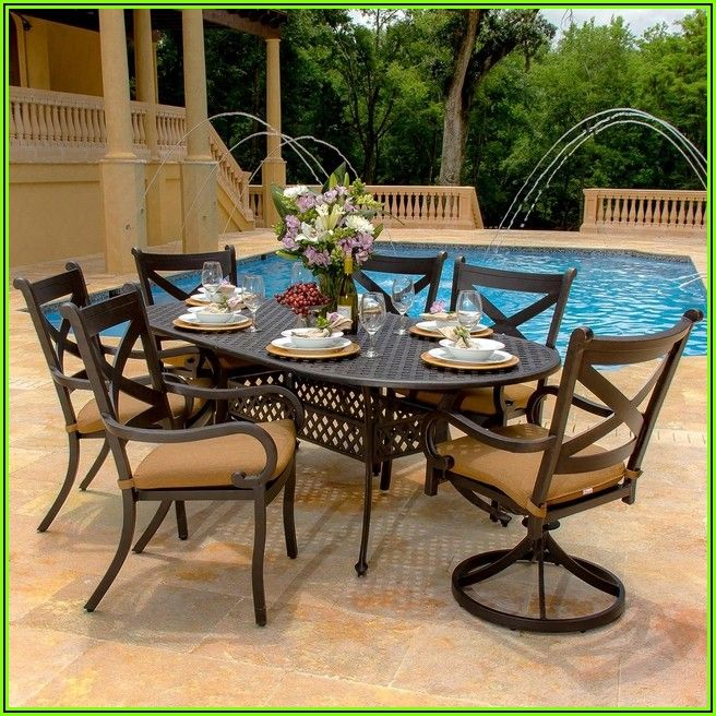 6 Person Patio Furniture